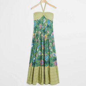 Anthropologie Zosime Halter Maxi Dress